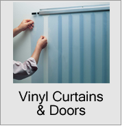 Vinyl Curtains & Doors Menu