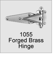 1055 Forged Brass Hinge