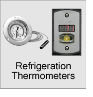 Refrigeration Thermometers Menu