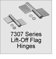 7307 Series Lift-Off Flag Hinges
