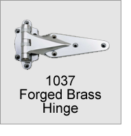 1037 Forged Brass Hinge