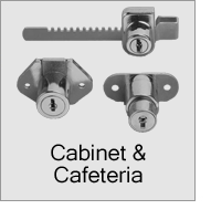 Cabinet and Cafeteria Latches and Locks Menu
