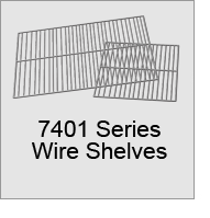 7401 Series Wire Shelves