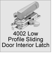 4002 Low Profile Sliding Door Interior Latch