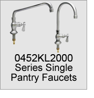 0452KL2000 Series Single Pantry Faucets