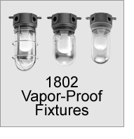 Incandescent Vapor-Proof Fixtures for Walk-In Coolers and Freezers