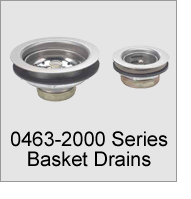 0463-2000 Series Basket Drains