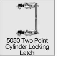 5050 Two Point Cylinder Locking Latch