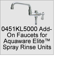 0451KL5000 Pre-Rinse Add-On Faucets