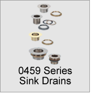 0459 Series Sink Drains