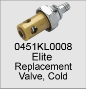 0451KL0008 Faucet Replacement Valve, Cold