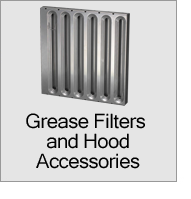 Grease Filters and Hood Accessories Menu