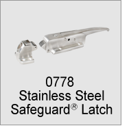 0778 Stainless Steel SafeGuard Latch