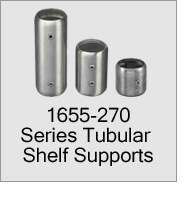 1655-270 Series Tubular Shelf Supports