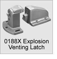 0188X Explosion Venting Latch