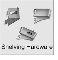 Reach In Shelving Hardware Menu