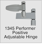 1345 Performer Positive Adjustable Hinge