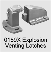 0189X Explosion Venting Latches