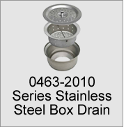 0463-2010 Series Stainless Steel Box Drain