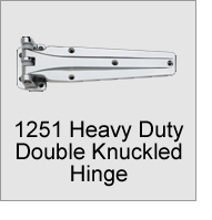 1251 Heavy Duty Double Knuckled Hinge