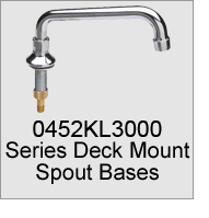 0452KL3000 Series Deck Mount Spout Bases
