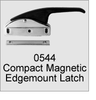 0544 Compact Magnetic Edgemount Latch