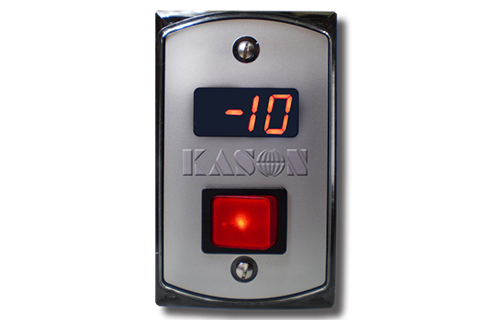 Kason Industries 1967 A2 Temperature Display And Switch