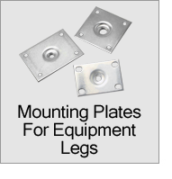 Mounting Plates For Equipment Legs