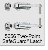 5656 SafeGuard Two Point Latch