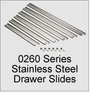 0260 Series Stainless Steel Drawer