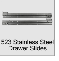 523 SS Drawer Slides Menu
