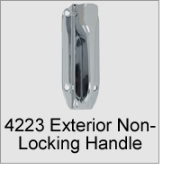 4223 Exterior Non-Locking Handle