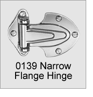 0139 Narrow Flange Hinge