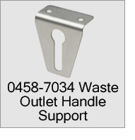 0458-7034 Waste Outlet Handle Support