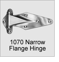1070 Narrow Flange Hinge