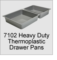7102 Heavy Duty Thermoplastic Drawer Pans