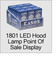 1801 LED Hood Lamp Point of Sale Display