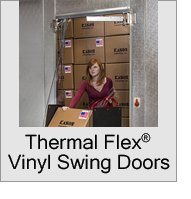 Thermal Flex Vinyl Swing Doors