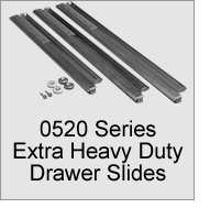 0520 Series Extra Heavy Duty Drawer Slides