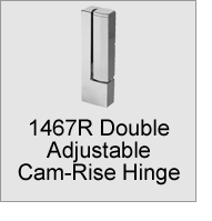 1467R Double Adjustable Hinge