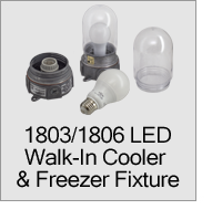 1803/1806 Series LED Walk-In Cooler/Freezer Fixtures