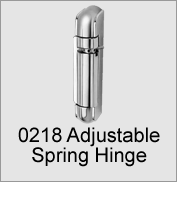 0218 Adjustable Spring Hinge