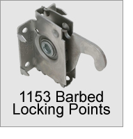1153 Barbed Locking Points