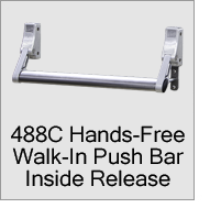 488C Walk-In Push Bar Inside Release