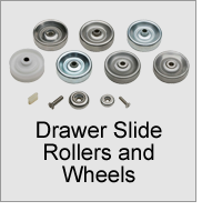 Drawer Slide Rollers and Wheels