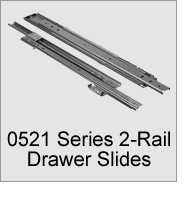 0521 Series 2-Rail Drawer Slides