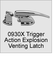 0930X Trigger Action Explosion Venting Latch