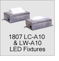 1807 LC, LW, LCR & LCW A10 LED Fixture