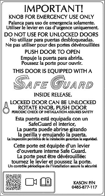 SafeGuard Label